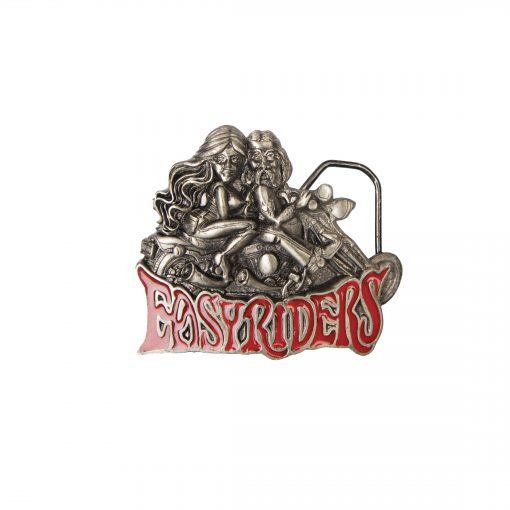 Eagle Easy Riders Buckle 2070 Office Licensed Product Copyright 1991 Made in The USA