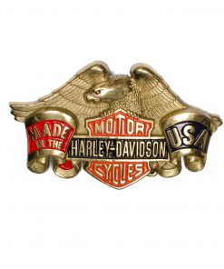 Harley-Davidson H503R Solid Brass Belt Buckle