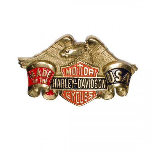 Harley-Davidson H503R Solid Brass Belt Buckle