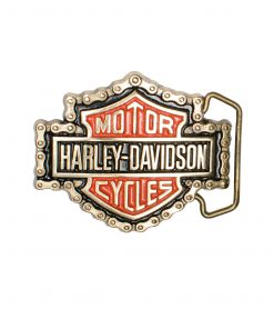 Harley Davidson H531 Solid Brass belt buckle