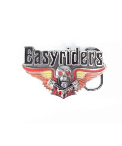 Easyriders skull and wings Buckle 2073