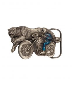 Biker and Animal Buckle