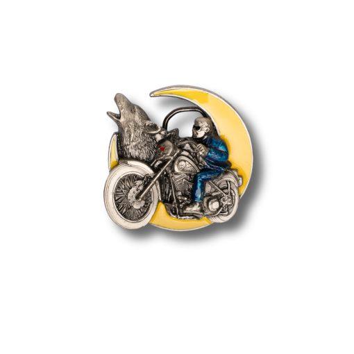 moon biker buckle