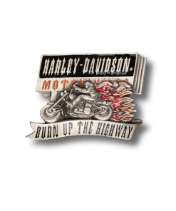 harley h429 silver buckle