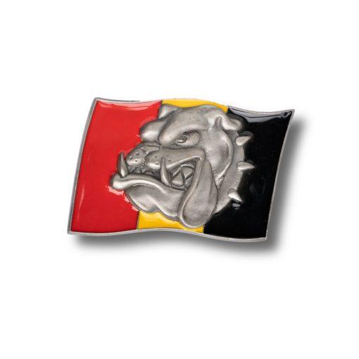Bulldog Buckle Flag Buckle