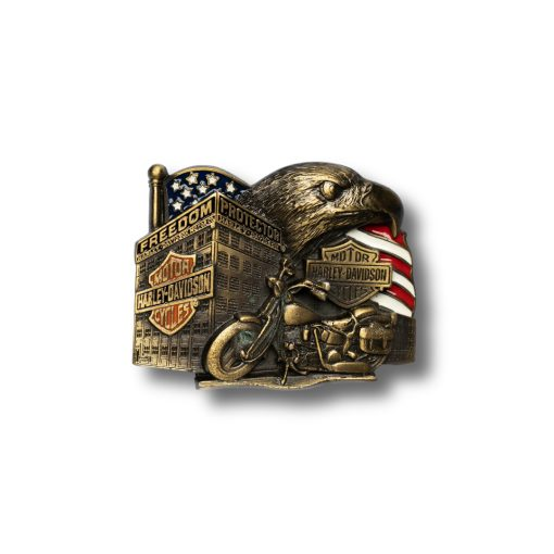 Freedom Protector Harley-Davidson Buckle h424