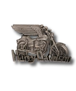 Harley h505 silver buckle